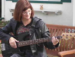 Lisa On Bass(es)